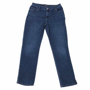 Lee Riders Relaxed Fit Straight Leg Womens Jeans 4